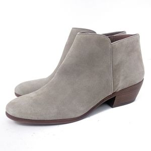 Sam Edelman Petty Ankle Bootie Suede Leather 8.5